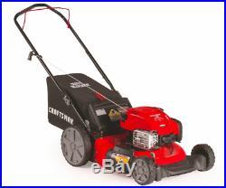 Craftsman 37471 21 163cc Briggs & Stratton 3-in-1 Lawn Mower High Rear Wheels
