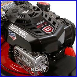 Craftsman 37705 21 163cc Front-Wheel Drive Gas Lawn Mower with High Rear Wheels