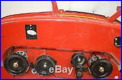 Craftsman 46 Lawn Tractor Mower Deck with Pulleys and Blades, #583477401