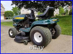 Low Cost Lawnmowers » Blog Archive » Craftsman LT1000 riding tractor