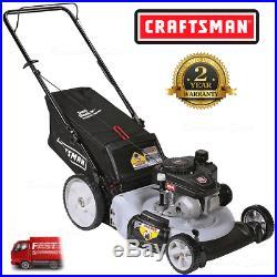 Craftsman Lawn Mower 21 in Rear Bag Mulcher Pro 140cc Kohler OHV with Gas Engine