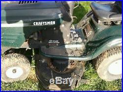Craftsman Riding Mower 42 deck 19.5hp Briggs & Stratton