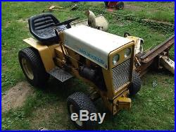Cub Cadet 122 With Implements