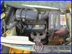 Cub Cadet 2182 Lawn Tractor with Kubota gas 60 mower deck power steering used