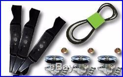 Cub Cadet MTD 54 SLT 1554 SLTX 1054 Rebuild Kit Blades Spindles Belt