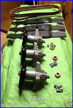 Cub Cadet Troy Bilt MTD 50 RZT Deck Rebuild Kit Blades Spindles Belt Mower