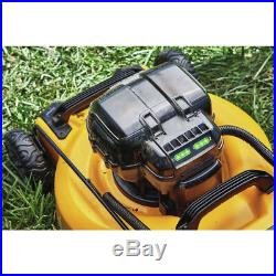DEWALT 2X 20V MAX 3-in-1 Cordless Lawn Mower DCMW220P2 New