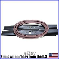 Deck Blade & Belt Made withKevlar Kit 42 Craftsman MTD LT2000 942-04308 954-04060