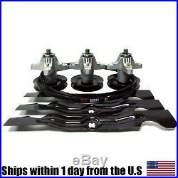 Deck Rebuild Kit for RZT 50 RZT50 Spindles Belt Blades Cub Cadet 903-04328
