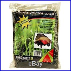 Durable and Weather Resistant Deluxe Riding Lawn Mower Cover