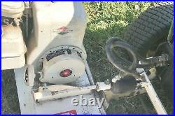 EZ Rake thatcher John Deere garden tractor attachment JD 318 Briggs&Stratton 5hp