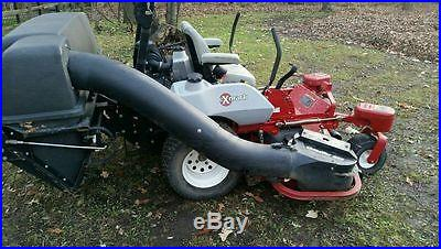Exmark Zero Turn Mower 60 with Quick Release Bagging Unit-ONLY 346 hours