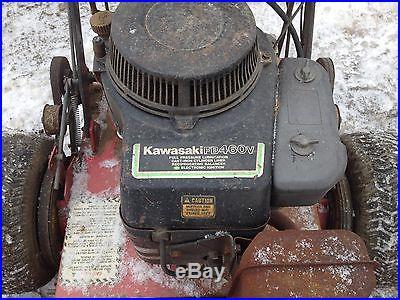Exmark walk behind mower