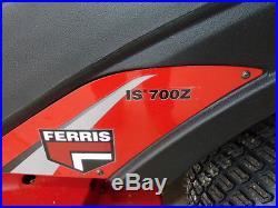 FERRIS IS 700 27 HP BRIGGS 52 CUT $5849.00 WITH BRUNOS BUCKS (FREE SHIPPING)
