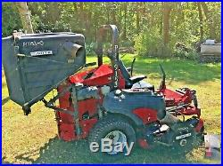 Ferris IS5100Z 72 inch Diesel Mower Cat Engine, With Pro Vac Bagger! 2013 Hours