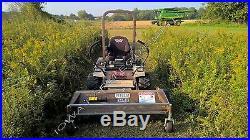 Flail Mower Deck, Grasshopper Front Mowers, 63 Cut Finish or Rough Cut Mower