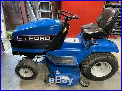 Ford GT75 Diesel Garden Tractor With Mower
