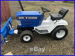Ford LGT14D With Plow LGT LGT16D 14d Garden Tractor