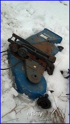 Ford garden tractor mower deck aluminum jacobson lawn mower