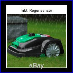 Garden Feelings R800 Mähroboter Rasenroboter Rasenmäher 800 qm Regensensor 50W