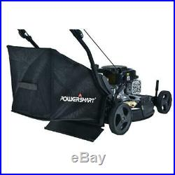 Gas Lawn Mower 21 in 3 in 1 Walk Behind Push Backyard Garden Grass Yard Bagging