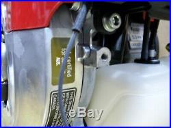 Genuine Gx50 Nts3 Honda Mini 4 Stroke Engine With Clutch 2.3 HP Horiz. + Vert