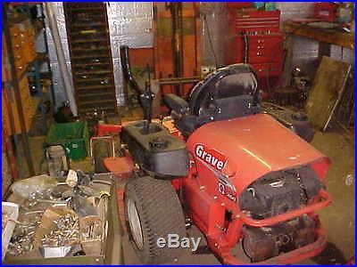 Gravely 260Z / 60 Zero Turn Mower(Parts or Repair)