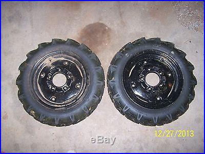 Gravely gear reduction wheels