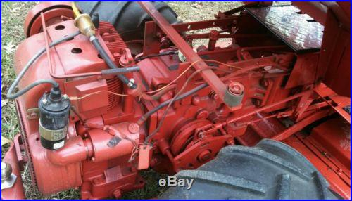 Gravely tractor