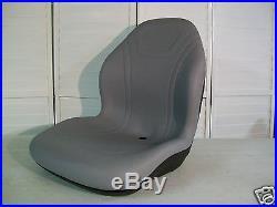 Gray Seat Hustler, Jacobsen, Toro, Dixie Chopper, Zero Turn, Front Mowers, Ztr #eg