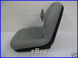 Gray Seat New Holland Tc30, Tc45d, Tc40, Tc35a, Tc34, Tc33, Tc29d, Tc25d Tractors #rv