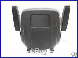 Gray Seat With Arm Rests Hustler, Dixie Chopper, Jacobsen, Toro, Exmark, Mower, #jb