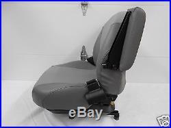 Gray Suspension Seat Fits Hustler, Exmark, Toro, Bobcat, Bunton, Dixie Chopper #og