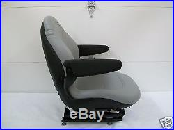 Gray Suspension Seat, Hustler, Exmark, Toro, Bobcat, Bunton, Dixie Chopper, Ztr, #oz