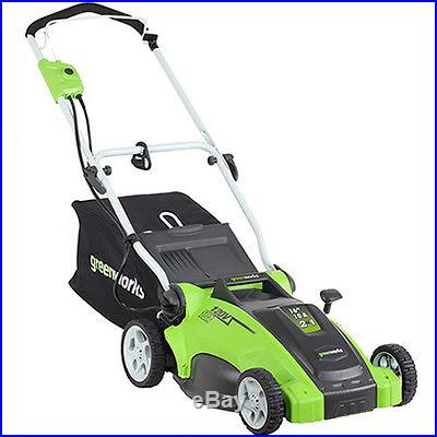 Greenworks 10 Amp Corded 16-in 2-in-1 Electric Lawn Mower 25142 NEW