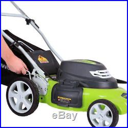 Greenworks 25022 12 Amp 20 in. 7-Position 3-in-1 Electric Lawn Mower New
