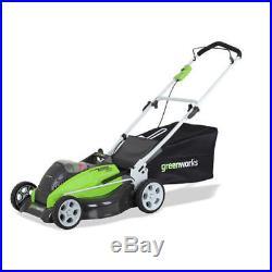 Greenworks 40V G-MAX Li-Ion 19 3-in-1 Lawn Mower (BT) 2501302 New
