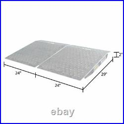 Guardian SR-01-24-24-P-TS6-2 Shed Ramps with Punch Plate Surface 2 Pack