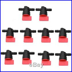 HIPA Pack of 10 1/4 Inline Fuel Cut off Shut Off Valve for Briggs & Stratton US