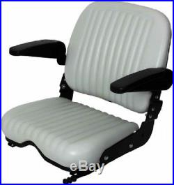 High Back Comfort Wide Bottom Seat Fits Dixie Chopper Ztr, Zero Turn Mowers #kw