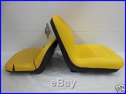 High Back Yellow Seat, John Deere Gt242, Gt262, Lx188, Lx186, Lx178, Lawn Mower Jd #na