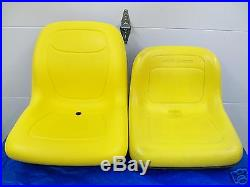 Higher Back Seat John Deere 325,335,345 Garden Tractor #70,001 Pivot Style #bp