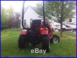 Honda 5518 4 Wheel Drive & 4 Wheel Steer with52 Mower Deck