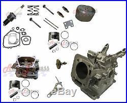 Honda GX200 Engine Block Cylinder Head Camshaft Connecting Rod Valves Gaskets