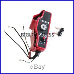 Honda Gx390 13hp Gx340 11hp Electric Start Kit Flywheel Starter Key Switch Coil