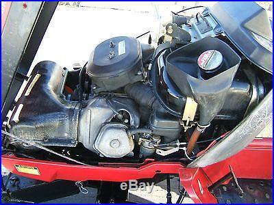 Honda RT 5000 4X4 Tractor- Snowblower and Mower