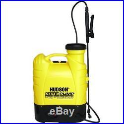 Hudson Bak-Pak 4 Gallon Never-Pump Sprayer