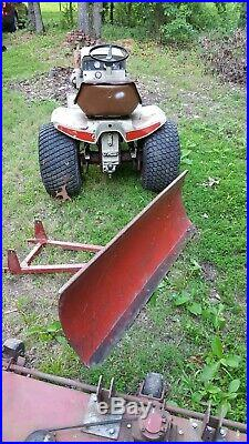 Husky 1886 Bolens Lawn Tractor Garden Tractor Runs Great