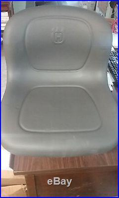 Husqvarna High Back Seat Oem Riding Lawn Mower Seat # 532439700 & Fits Poulan
