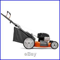 Husqvarna LC121P Walk Behind Push Lawn Mower with 21 Inch Cutting Width & Bagger